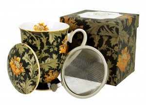 Kubek do herbaty z sitkiem William Morris DUO